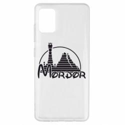 Чехол для Samsung A51 Mordor (Властелин Колец)