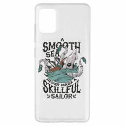 Чохол для Samsung A51 Морське чудовисько Кракен