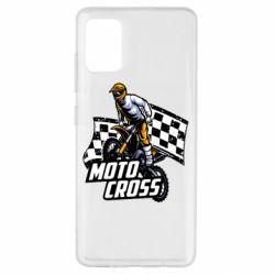 Чехол для Samsung A51 Motocross