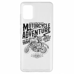 Чехол для Samsung A51 Motorcycle Adventure