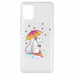 Чохол для Samsung A51 Mouse and rain