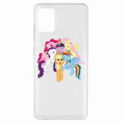 Чехол для Samsung A51 My Little Pony