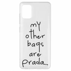 Чохол для Samsung A51 My other bags are prada