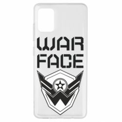 Чохол для Samsung A51 Напис Warface