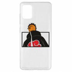 Чехол для Samsung A51 Naruto tobi