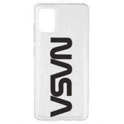 Чохол для Samsung A51 NASA logo