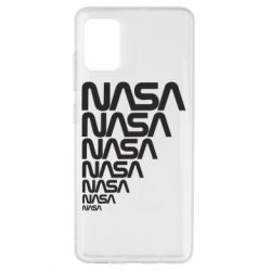 Чехол для Samsung A51 NASA