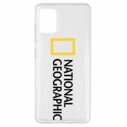 Чехол для Samsung A51 National Geographic logo