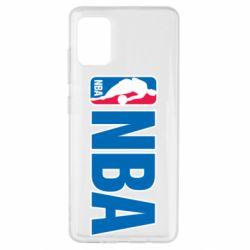 Чехол для Samsung A51 NBA Logo