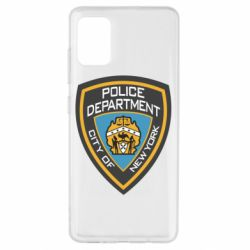 Чехол для Samsung A51 New York Police Department