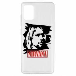 Чехол для Samsung A51 Nirvana Kurt Cobian