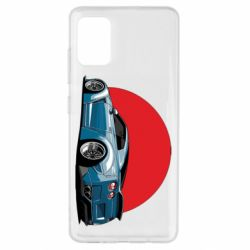 Чехол для Samsung A51 Nissan GR-R Japan