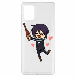 Чохол для Samsung A51 Noragami and drink