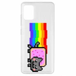 Чохол для Samsung A51 Nyan cat