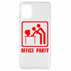 Чехол для Samsung A51 Office Party