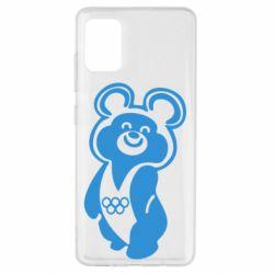 Чохол для Samsung A51 Олімпійський Ведмедик