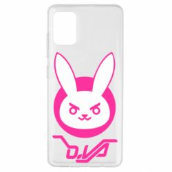 Чехол для Samsung A51 Overwatch dva rabbit