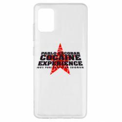 Чехол для Samsung A51 Pablo Escobar