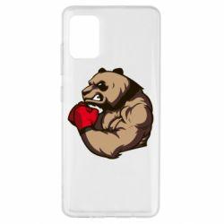 Чехол для Samsung A51 Panda Boxing