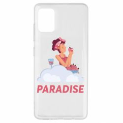 Чехол для Samsung A51 Paradise apple and wine