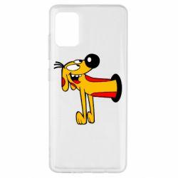 Чехол для Samsung A51 Пес