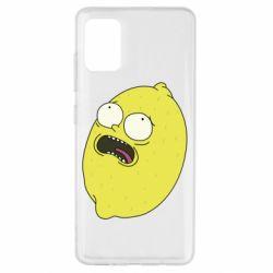 Чохол для Samsung A51 Pickle Rick Sanchez