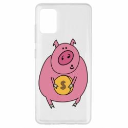 Чохол для Samsung A51 Pig and $
