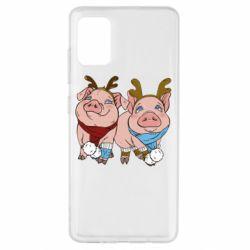 Чохол для Samsung A51 Pigs