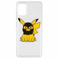 Чехол для Samsung A51 Pikachu in balaclava