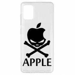 Чехол для Samsung A51 Pirate Apple