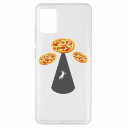 Чохол для Samsung A51 Pizza UFO
