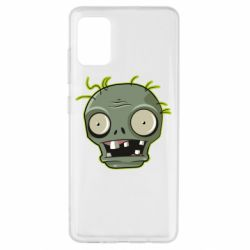 Чохол для Samsung A51 Plants vs zombie head