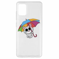 Чохол для Samsung A51 Plush cat