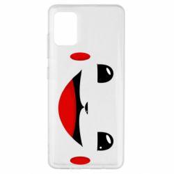 Чохол для Samsung A51 Pokemon Smile