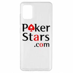 Чехол для Samsung A51 Poker Stars