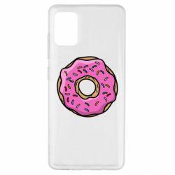 Чехол для Samsung A51 Пончик Гомера