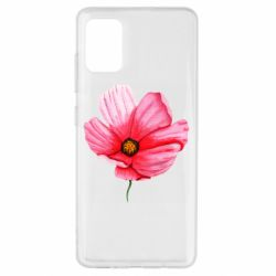 Чехол для Samsung A51 Poppy flower