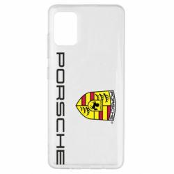 Чехол для Samsung A51 Porsche