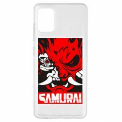 Чохол для Samsung A51 Poster samurai Cyberpunk