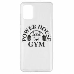 Чехол для Samsung A51 Power House Gym