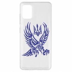 Чохол для Samsung A51 Птах та герб