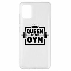 Чохол для Samsung A51 Queen Of The Gym