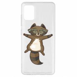Чохол для Samsung A51 Raccoon