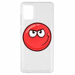 Чехол для Samsung A51 Red Ball game