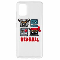Чехол для Samsung A51 Red ball heroes