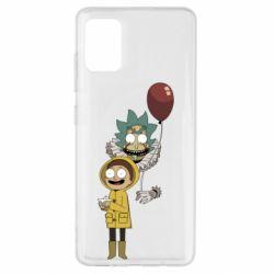 Чехол для Samsung A51 Rick and Morty: It 2