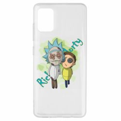 Чохол для Samsung A51 Rick and Morty voodoo doll
