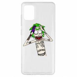 Чохол для Samsung A51 Рік і Морті образ Джокера