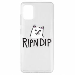 Чохол для Samsung A51 Ripndip and cat