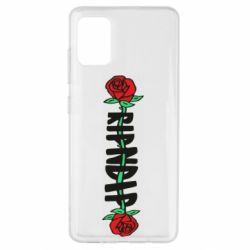 Чехол для Samsung A51 RipnDip rose